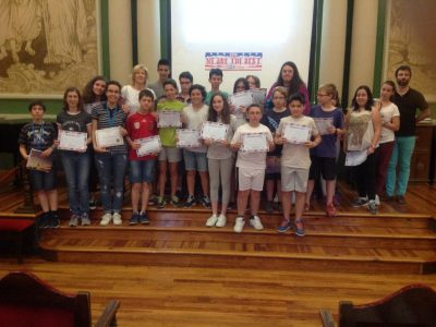 Albacete, IES Bachiller Sabuco, a beautiful Big Challenge Awards 2016 Ceremony!!!  Keep going together!!!