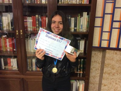 Yaiza Alonso. First 2º ESO Paula Montal School.Vitoria-Gasteiz