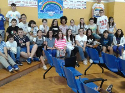IC SARNELLI DE DONATO POLIGNANO A MARE HERE ARE some of the PHOTOS OF OUR students during the ceremony. Congratulations