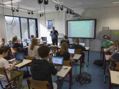 Our concentrated students at Het Baarnsch Lyceum, 19 April 2016
