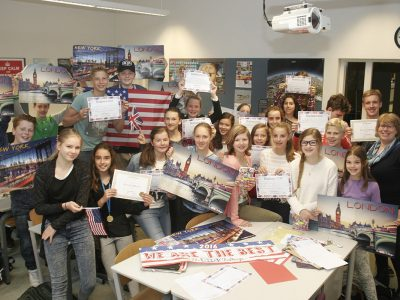 A. Roland Holst College, Hilversum Class b1b, well done!!