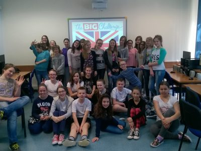 We are from Warsaw (Poland) - Jakub Jasiński Primary School (nr 258). We love learning English !!!
