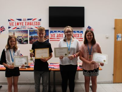 NMS Horitschon - Johanna, Samuel, Michelle and Paula - we are proud of you!