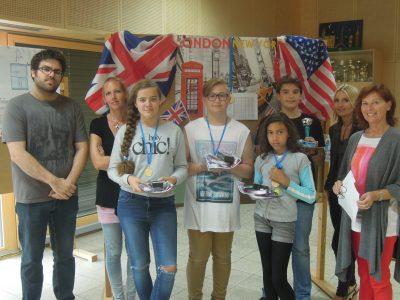 Einige glückliche und stolze THE BIG CHALLENGE-TeilnehmerInnen der NMS Zurndorf