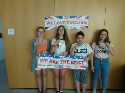 Die Sieger der vier Klassen der NMS Frankenfels. We are proud of you all!!!