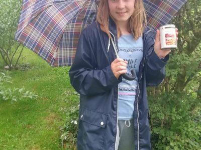 Linz Brucknerschule der Franziskanerinnen  England weiß eben, wie man in einen Regentag startet - mit dem richtigen Bake Beans Frühsück - danach bist du trotz Wetters HAPPY!