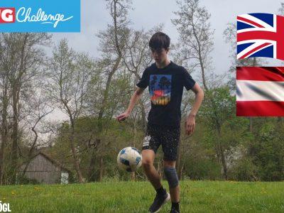 """Guten Tag,  oder wie man in Englisch so schön sagt, """"Hello"""". :) Ich bin Lukas, 13 Jahre alt und komme von Österreich. NMS Grafendorf ist der Name meiner Schule, hier ist es echt toll. Auf dem Bild sieht man mich, im Garten, beim Fußballspielen, denn was zeichnet England unter anderem aus? GENAU! Der großartige Fußball den sie dort spielen! Deshalb habe ich mich entschlossen, ein Bild von mir, wie ich den Ball hochspiele, zu posten. Anschließend habe ich das Bild ein wenig bearbeitet. Es war zugegebenermaßen nicht enorm viel Aufwand, allerdings habe ich mir Mühe gegeben! :)  Ich hoffe euch gefällt das Foto,  Liebe Grüße und alles Beste wünscht euch Lukas Schlögl                                    NMS Grafendorf, Grafendorf bei Hartberg, Österreich"""