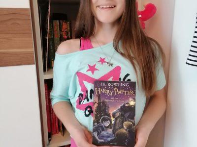 Graz, BG/BRG Kirchengasse  Meine liebste Freizeitbeschäftigung ist, Harry Potter auf Englisch zu lesen. Die Bücher auf Englisch mag ich am liebsten.