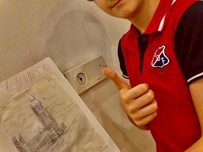Wien. gymnasium Maria Regina AhS Ich bin der Omar Sairafi und ich bin zweite klasse gymnasium in 2B. Ich habe den Big Ben Uhr gezeichnet und habe ich das geschickt.