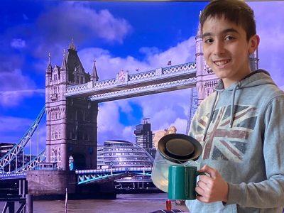 Wien,NMS Renngasse  Tea Time at London Tower Bridge ☕