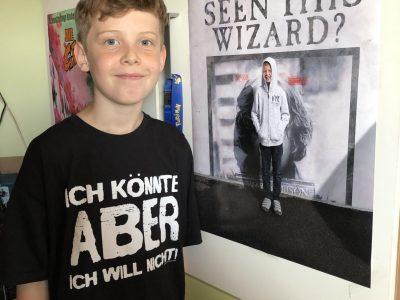 Stadt: Wien Name der Schule: BRG 10 Pichelmayergasse Ich habe dieses Foto an dem Ort gemacht, an dem die Harry Potter Filme gedreht wurden. Also in London.