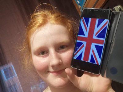Wien Pichelmayergasse  Ich habe mir die Großbritannien Flagge außgesucht.   LG Emilia