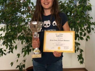 NMS Irdning: Es war eine gelungene Preisverleihung und wir sind besonders stolz auf Hannah!