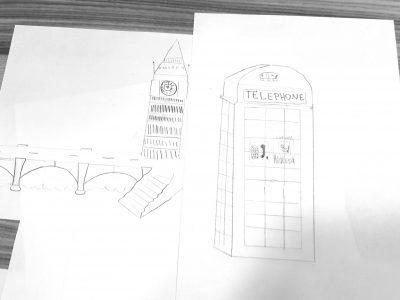 Gleisdorf BG/BRG Gleisdorf, Alexa Naomi Gössler Heute habe ich diese Bilder gezeichnet. Für jeden ist BIG Ben und die Tower Bridge etwas einmaliges. Auch die Telefonzellen Großbritanniens sind wirklich schön. Deshalb habe ich diese Dinge gewählt und sie gezeichnet. Wenn es jemanden gefällt, dann wird es immer richtig schön. Ich liebe zeichnen! LG  Alexa Naomi Gössler