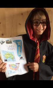 Baden bei Wien - BRG Biondekgasse  Harry Potter zaubert in Baden