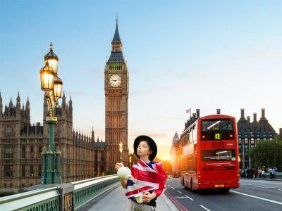 Treffen, Nms Gegendtal Mit dem Photoshop Express in London Tee trinken.