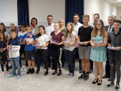 NMS Ilz - Große Siegerehrung für die Sieger der einzelnen Schulstufen
