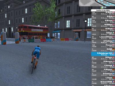 Seitenstetten, Stiftsgymnasium Bin nach der Big Challange eine virtuelle Radfahrt auf Zwift in London gefahren!