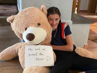 Kappl / NMS Paznaun  Mein Bär war mir eine große Unterstützung bei der Big Challenge!!