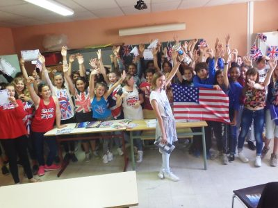 Congratulations to students from Collège Le Fenouillet in La Crau, France!