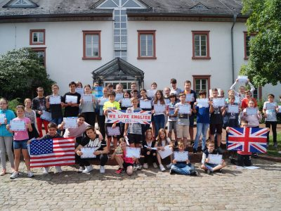 Lampertheim - Litauisches Gymnasium  We are all winners !!