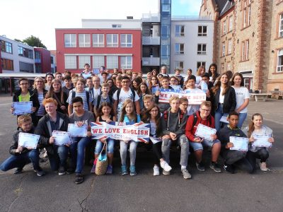 Max-Planck-Gymnasium Groß-Umstadt - the happy contestants on their last day of school 2018...