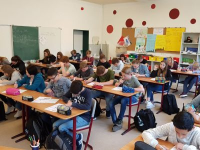 Gesamtschule Rhede Klasse 8