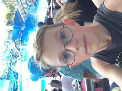 24594 Pinneberg  Johannes-Brahms-Schule  Das wahr 2018 im Florida Urlaub in Amerika bei einer Orka Show. In diesem Urlaub habe ich sehr viel englisch gesprochen und gehört.