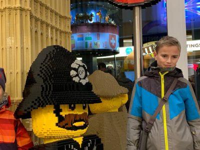 Biberach, Wieland-Gymnasium.  Besuch im Lego Store in London Januar 2020