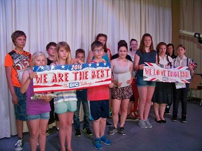 Glückliche Gewinner in Lohsa der Oberschule