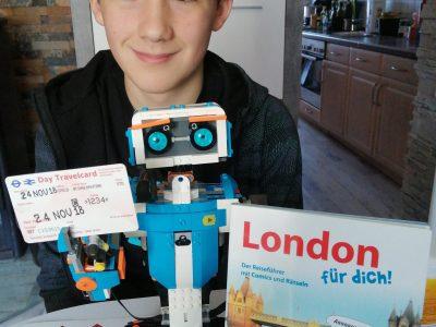 Mein Roboter und ich machen alles gemeinsam!  Gymnasium Porta Westfalica