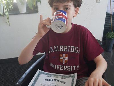 Langerwehe Europa Gesamtschule   It's tea time after the Big Challenge