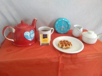 Wiehl- Dietrich-Bonhoeffer-Gymnasium  Tea Time - Englischer geht es nicht!