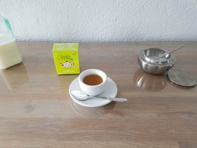 Gießen Liebigschule                                               Tea time at 4pm.
