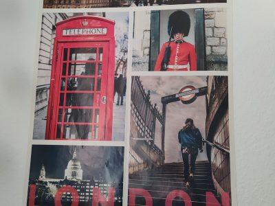 Neuss,Marie-Curie-Gymnasium Eine Collage von London