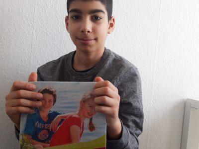 Berlin  Heinrich Zille Grundschule   Ich freu mich, dass ich mitmachen konnte.