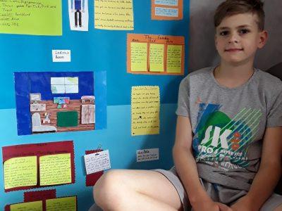 Saarlouis  Max-Planck-Gymnasium  Timo Zapp Klasse 5.c Wir sollten uns eine Person ausdenken und auf English detailliert beschreiben z.B. Daily Routine.