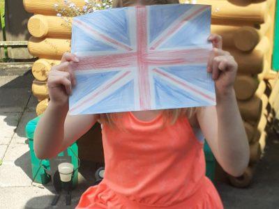 Niedersachsen  Igs friesland süd  Das ist die Flagge von England sie ist blau,rot und weiß die Englische Flagge