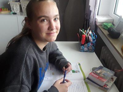 Essen Elsa-Brändström-Realschule  Ich mag Englisch aufgaben zu machen Weil es mir spaß macht