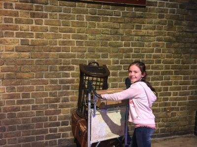 Ratingen, Carl-Friedrich-von-Weizsäcker Gymnasium, 6b, Josephine Meyer  I'm a tremendous Harry Potter Fan! I've built my own wand and love playing scenes from the film...