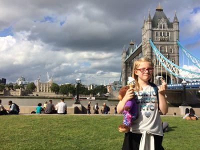 Oberhausen , Bertha von Suttner Gymnasium  Ice cream tastes even better in London !!! :-)