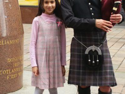 Laatzen  Erich Kästner Gymnasium  Das Bild ist vom 2015  in Schottland in der Stadt Glasgow