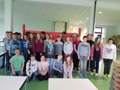 Grundschule Burgschule Lebus Big Challenge 2017