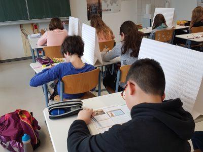 Gymnasium Georgianum Hildburghausen - SchülerInnen der 5C bei der Big Challenge 2017