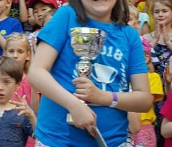 We are very proud of Mia. Grundschule an den Buchen, Berlin Pankow, Klasse 6b