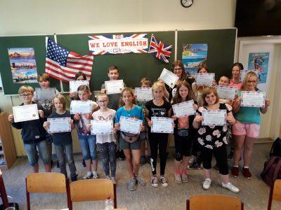 Picher, Theodor-Körner-Schule Große Freude bei allen, die mitgemacht haben - sie möchten im nächsten Jahr wieder dabei sein.