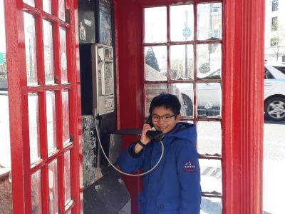 Die Stadt ist London. Ich bin in der IGS Langenhagen.  Ich will den Aufzug in das Zaubereiministerium bei Harry Potter benutzen.