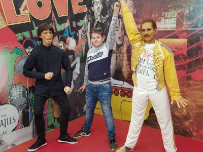 """Rodewisch/Pestalozzi-Gymnasium  """"Freddie Mercury"""" with me"""
