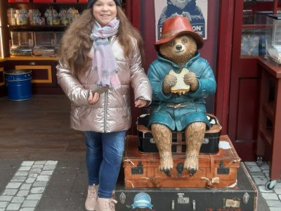Hechingen Realschule Hechingen. Paddington and I together in London (to eat Orange Jam)