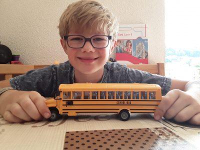 Stühlingen Realschlule. The school bus is my favourite toy.